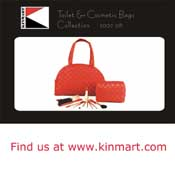 Custom Order Cosmetic Bags from Kinmart